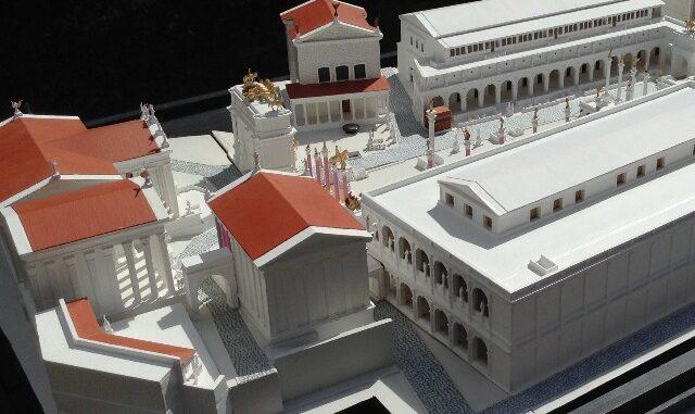Maquette Forum Romanum