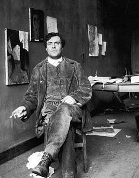 Amedeo Modigliani, portret
