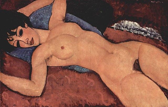 Amedeo Modigliani, naakt
