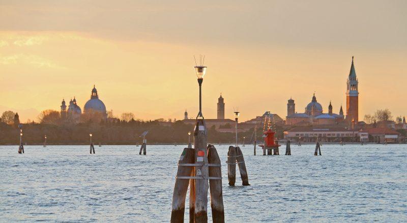 Panorama op Venetië