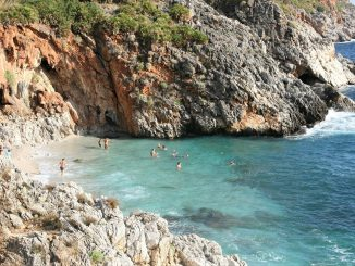Strand van Cala Capreria