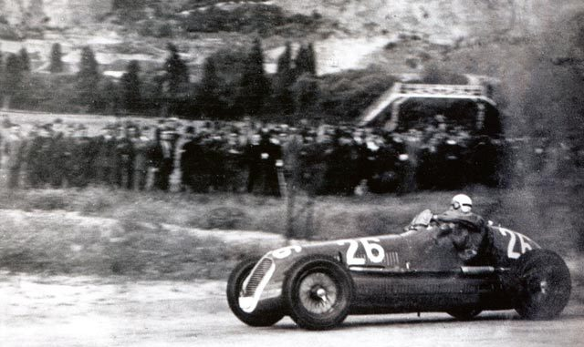Maserati 4CL winnaar Targa Florio in 1940
