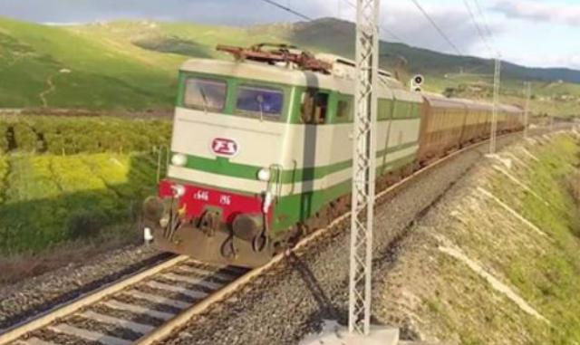 Trein op Sicilië
