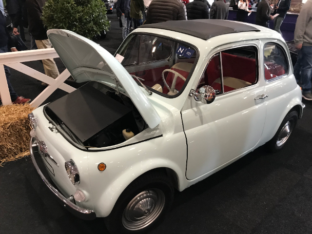 Experimentele elektrische Fiat 500
