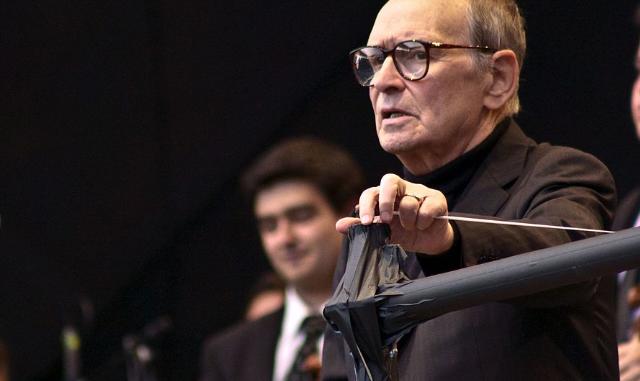 Ennio Morricone in 2013