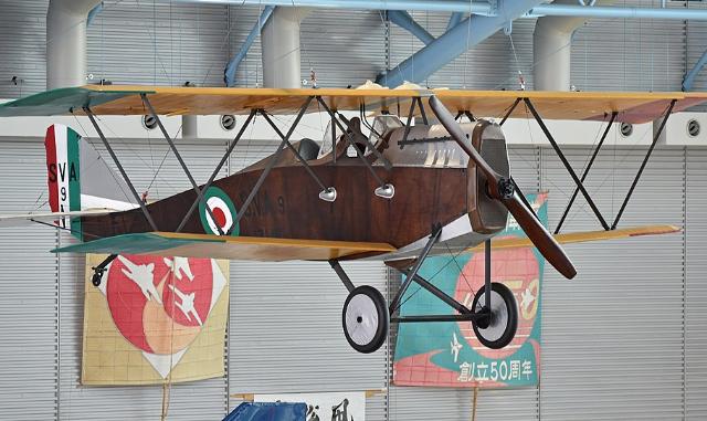 SVA9 replica van Arturo Ferrarin