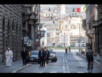 De bedevaart van Paus Franciscus