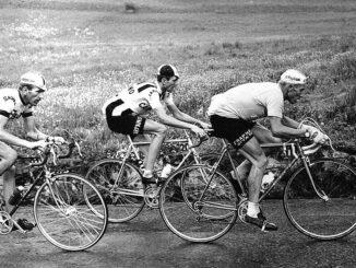 Vittorio Adorni samen met Italo Zilioli en Jacques Anquetil
