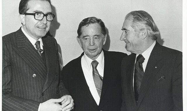 Giulio Andreotti, links