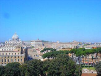 Pijnbomen in Rome