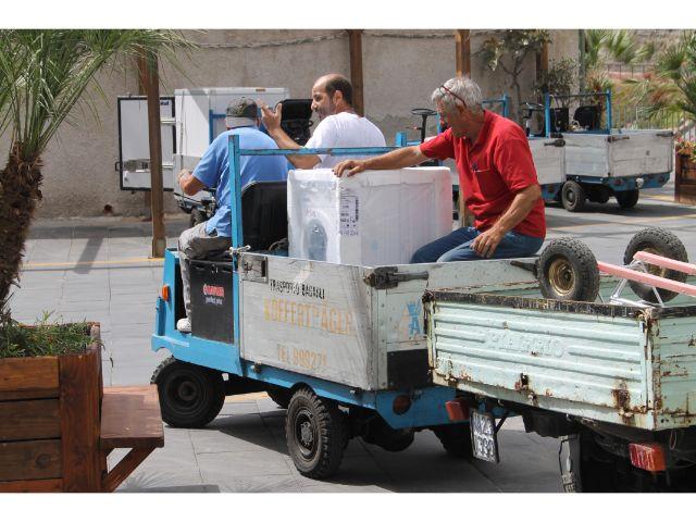 Bagagevervoer in Sant'Angelo