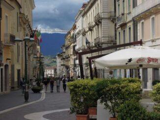 Straatbeeld Benevento
