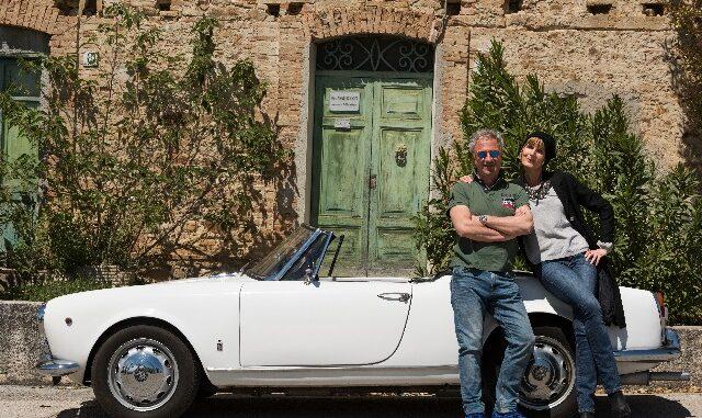 Olga en man Maurizio