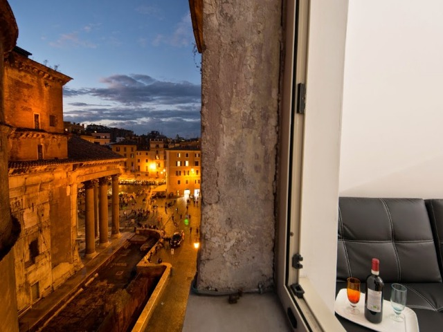 Olga's huis in Rome