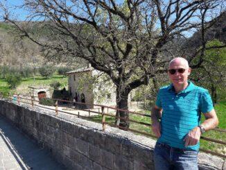 Paul Lippens bij Bosco di San Francesco
