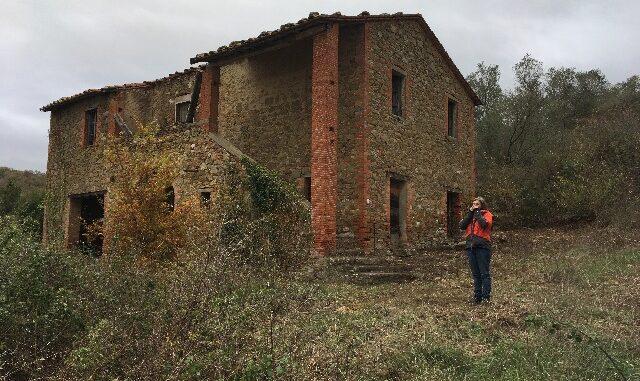 De ruïne in Mongiovino