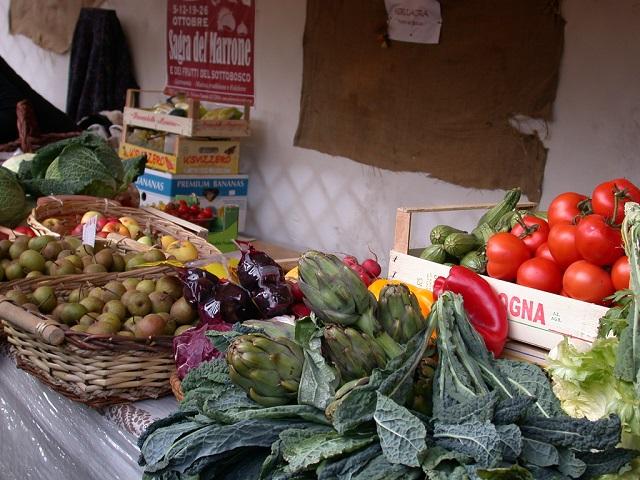 Rijkdom aan groenten