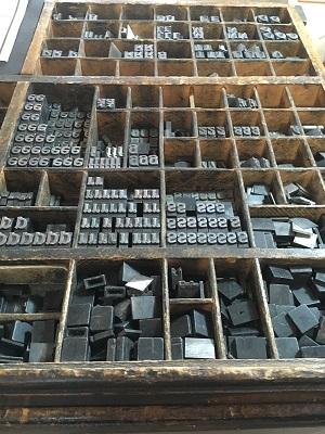 Letters in de Tipografia Grifani Donati