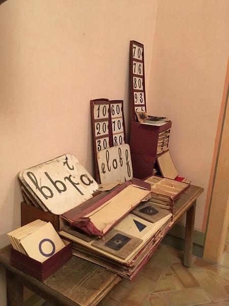 Lesmateriaal van Maria Montessori
