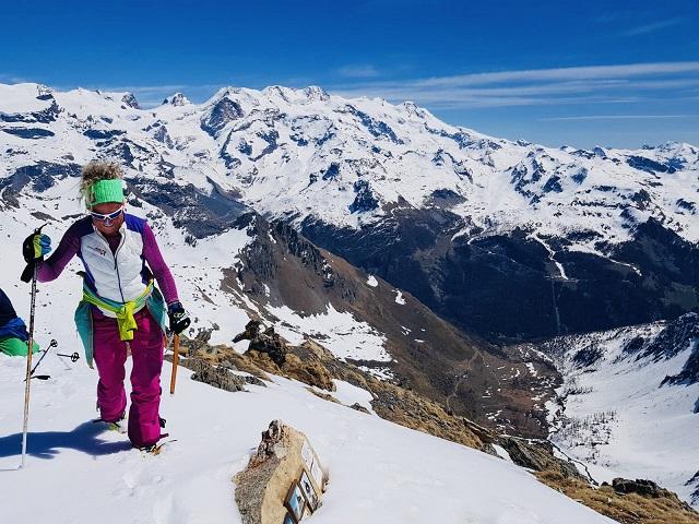 Becca di Nana tussen Valtournenche en Val d'Ayas