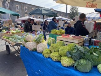 Op de markt in Catania