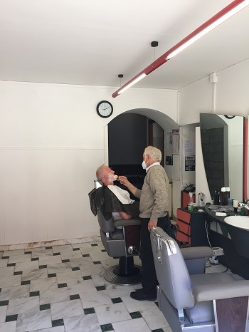 Giuliano aan het werk