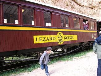 De huidige toeristische Lézard Rouge
