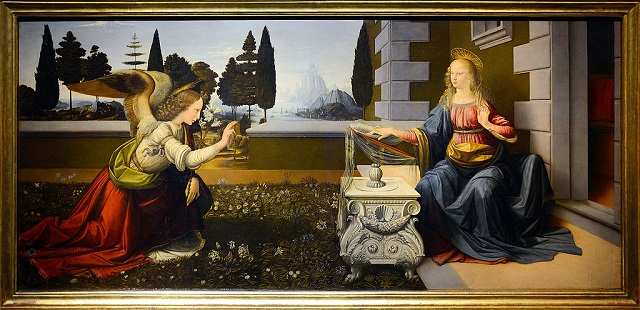Da Vinci Annunciatie